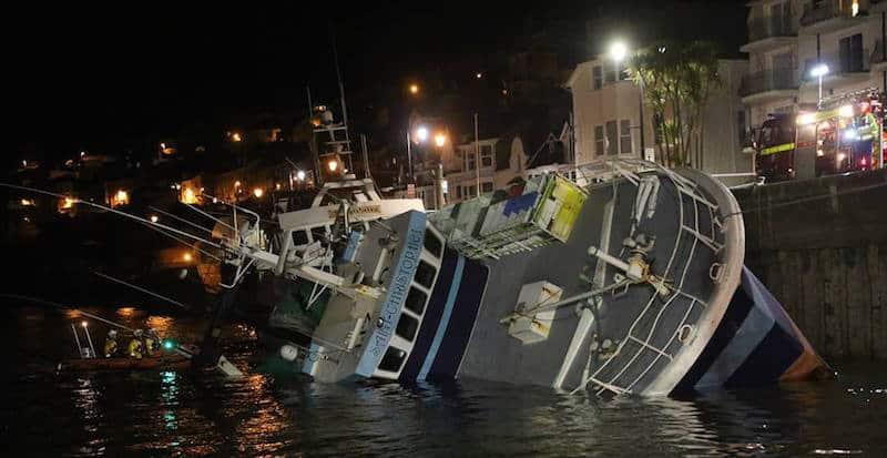 Trawlers in trouble
