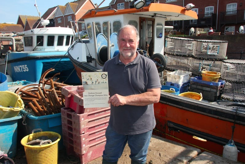 Sea Change Champion Award 2016 goes to Sussex fisherman