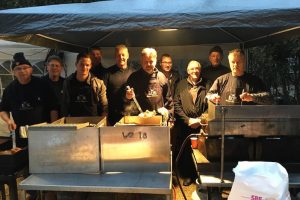 Trawler crews cooked for Rotterdam's homeless at Victory Outreach - @ Fiskerforum