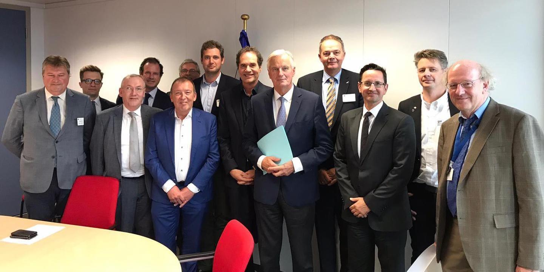 EUFA has constructive talks with Michel Barnier