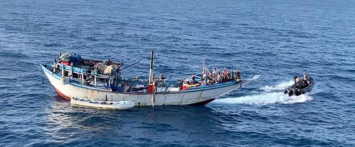 Attacks on fishing vessels – pirates held
