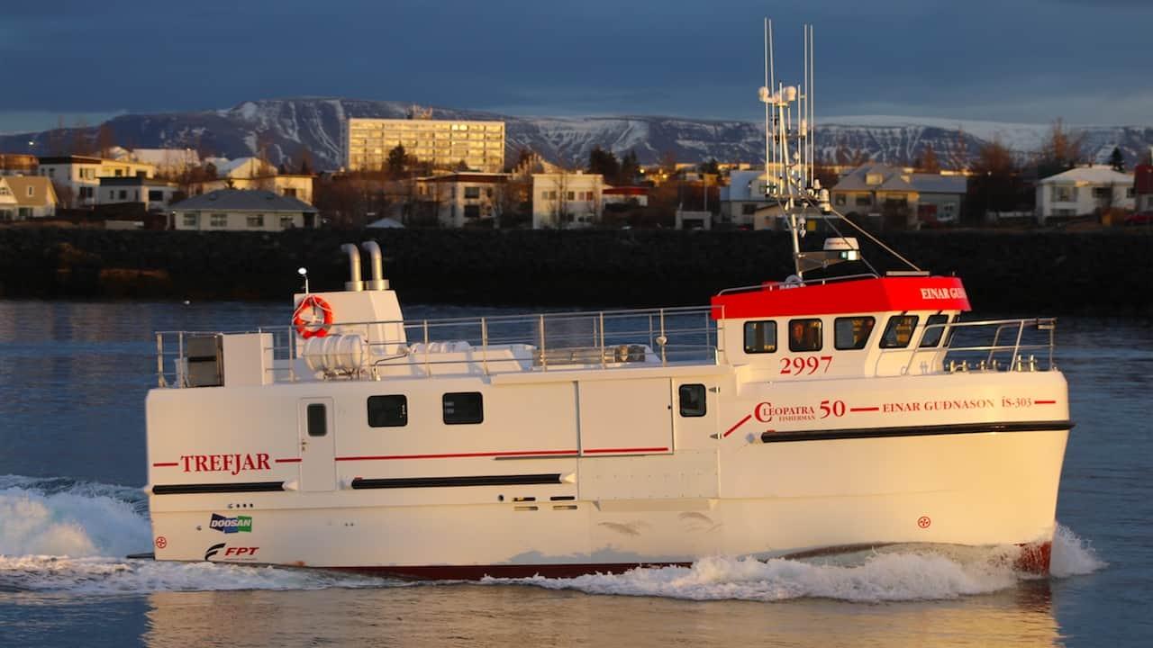 Trefjar delivers new Cleopatra 50 longliner