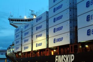 Eimskip has a fleet operating across the North Atlantic. Image: Eimskip - @ Fiskerforum