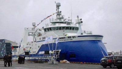 Reykjavík welcomes Engey