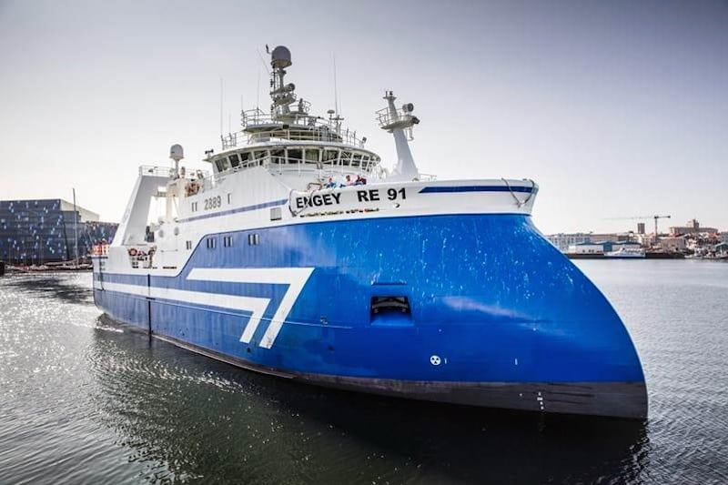 Engey completes its first full trip - @ Fiskerforum
