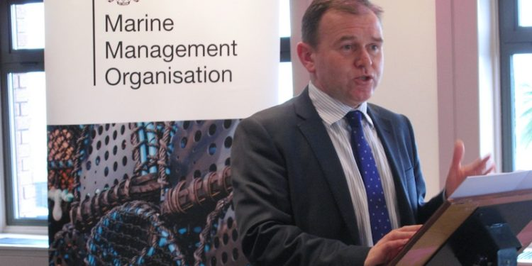 Minister of Fisheries George Eustice - @ Fiskerforum