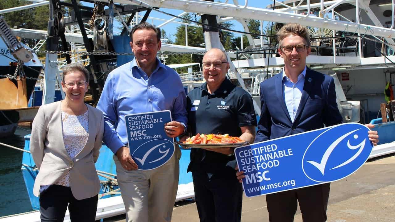 Exmouth Gulf prawns MSC re-certified