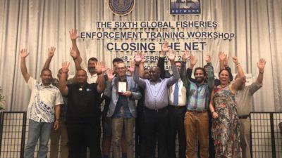 FFA wins global stop IUU fishing prize