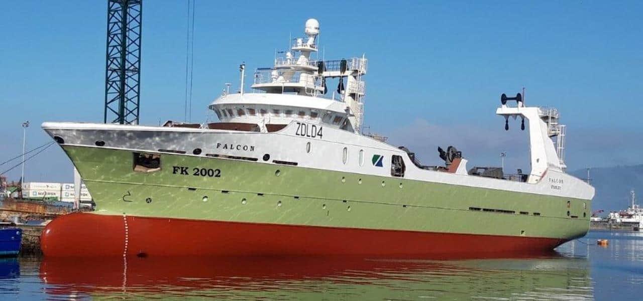 Nodosa launches latest Falklands trawler