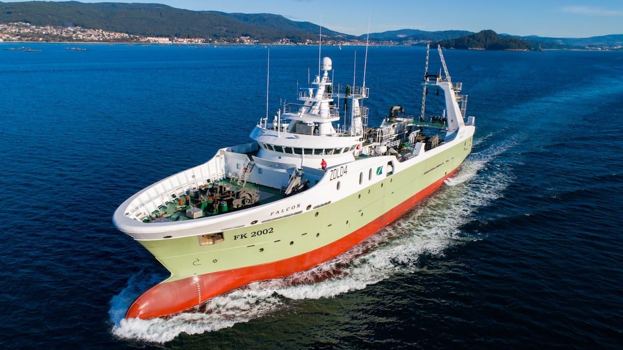 Nodosa delivers Falcon for Falklands