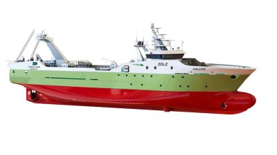 Pescapuerta places freezer trawler order with Nodosa