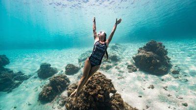 Ocean Positive swimwear line highlights marine litter