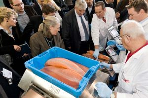 The fair in Germany about fish. Photo: from the fair i Bremen Germany Fish International - @ Fiskerforum