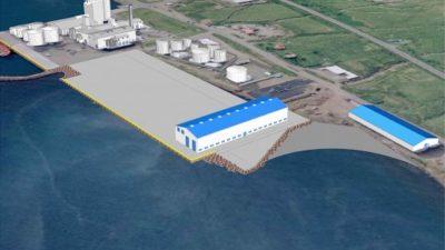 New eastern Iceland net loft