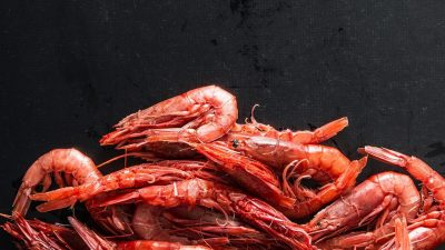 Value boost in red prawn extract