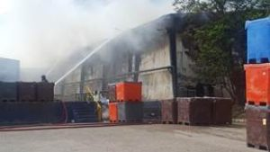 Fire has badly damaged the Deris processing plant - @ Fiskerforum