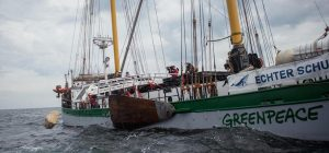 Illegal Greenpeace activity merits police involvement