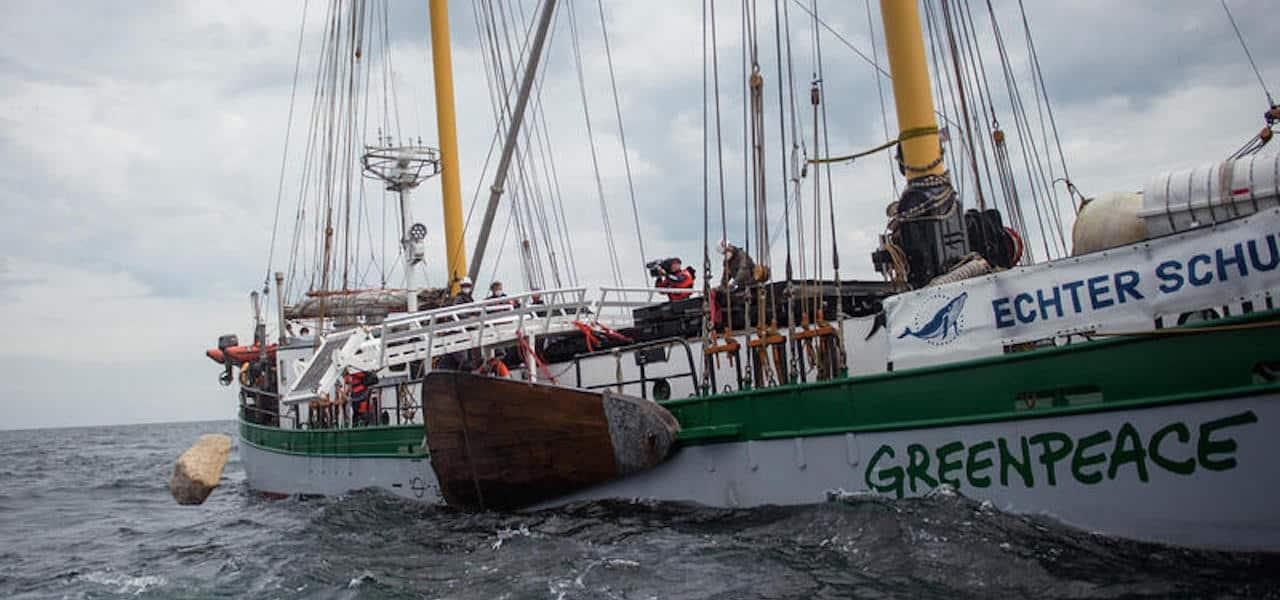 Illegal Greenpeace activity merits police involvement