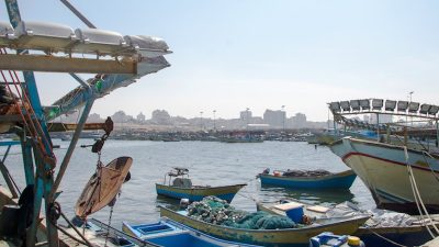 Gaza fishing zone extended