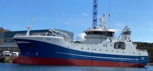 Geir: New longliner christened in Ålesund