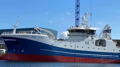Geir: New longliner christened in Ålesund