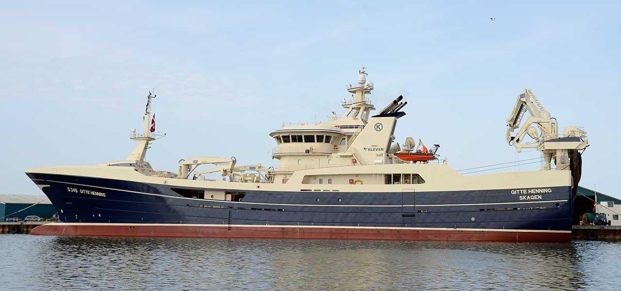 Gitte Henning joins Faroese fleet