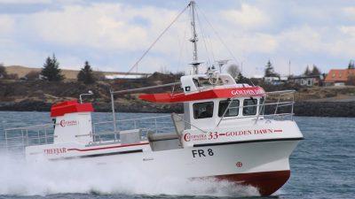 Golden Dawn working from Fraserburgh