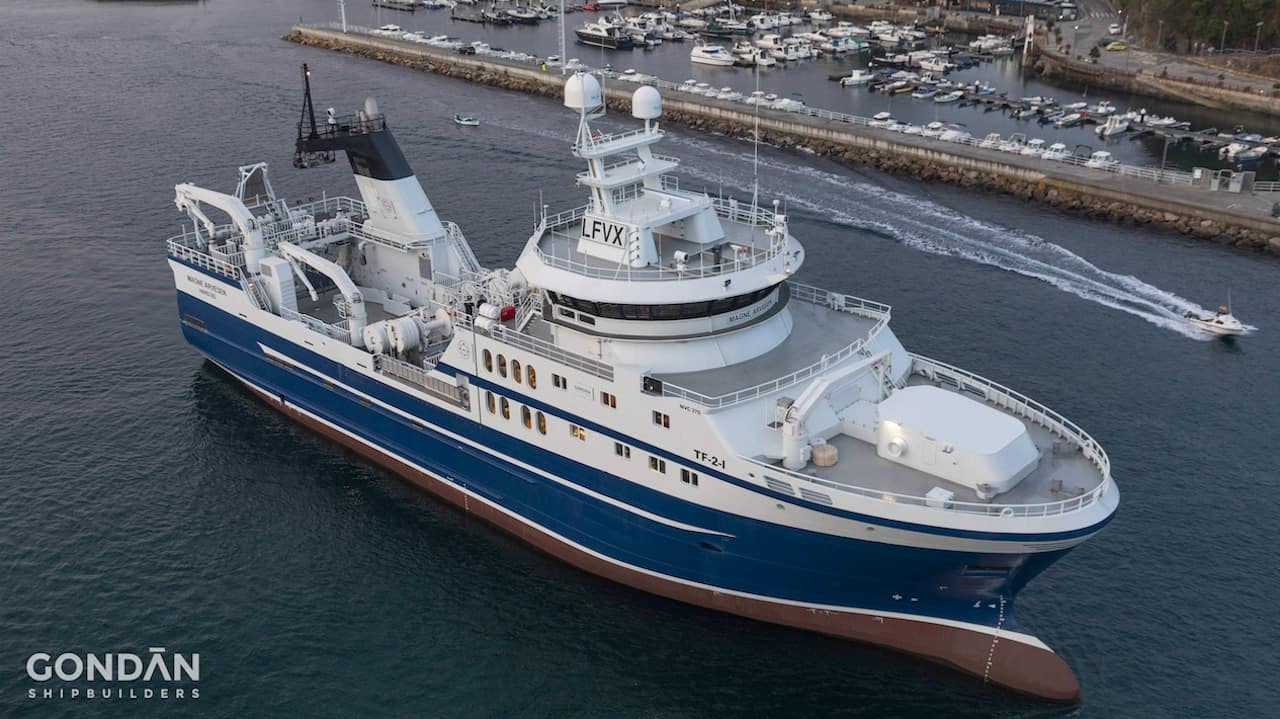 New Spanish-built trawler for Norwegian owners