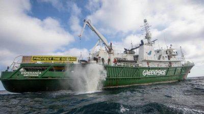 VisNed files complaint against Greenpeace