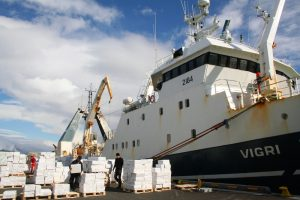 Ögurvík trawler Vigri landing in Reykjavík - @ Fiskerforum