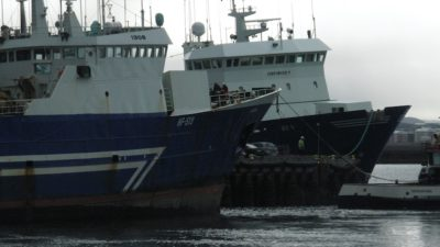 Icelandic fleet on strike