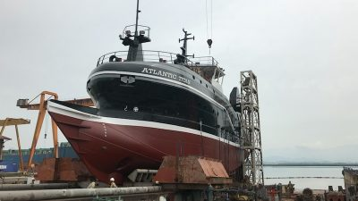 First of Canadian trawler trio approaching completion in Vietnam