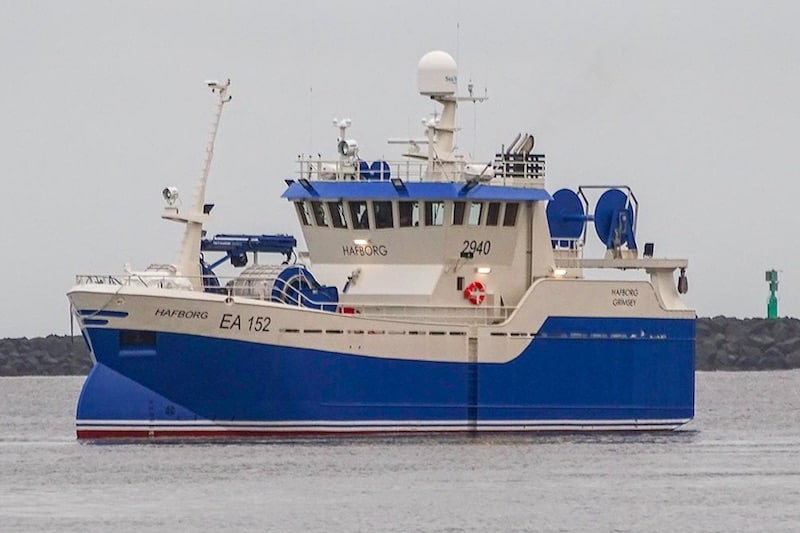 New seine netter for Iceland