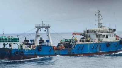 Co-operation frees hijacked fishing vessel