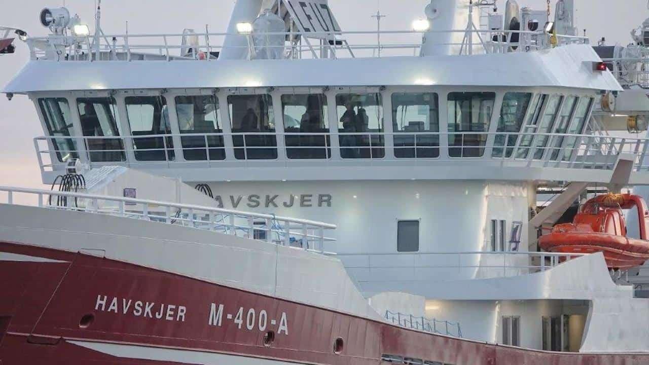 Karstensens delivers new pelagic vessel Havskjer