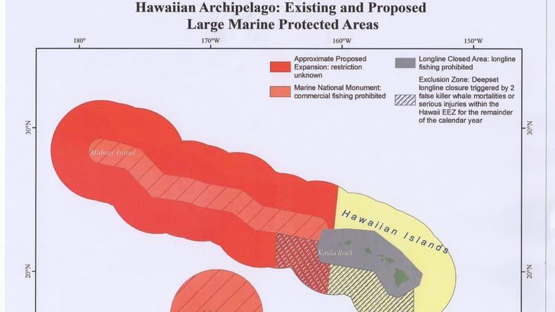 Hawaiian fishermen petition Obama to not extend MPA