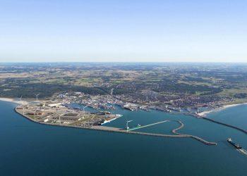 Nye faciliteter og grøn havneudvikling skal ruste Hirtshals Havn til fremtiden. foto: Hirtshals Havn