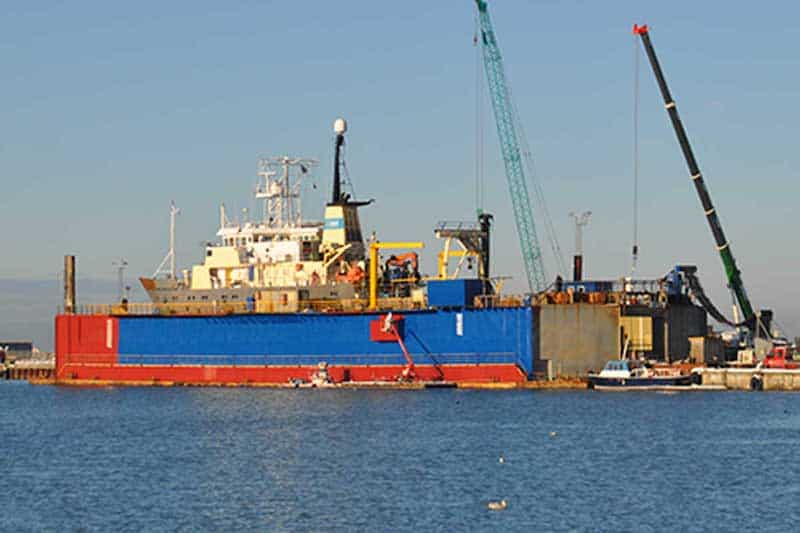 Hirtshals Yard back in action