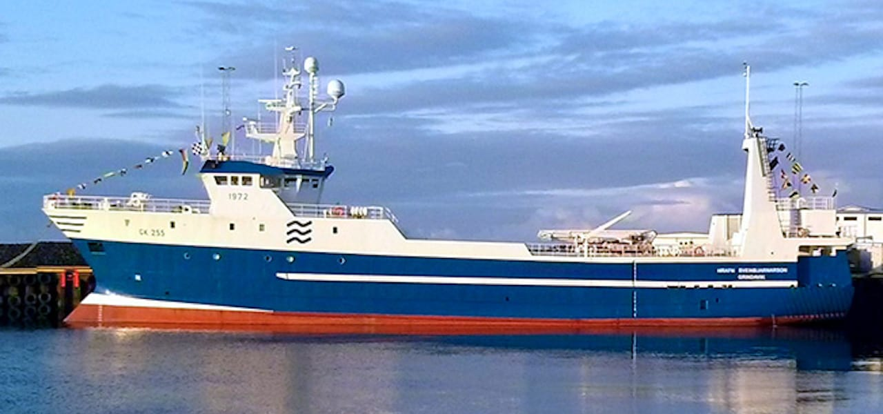 Icelandic trawler given Covid-19 clearance