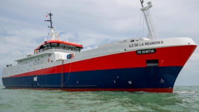 Piriou delivers Southern Ocean longliner to Comata