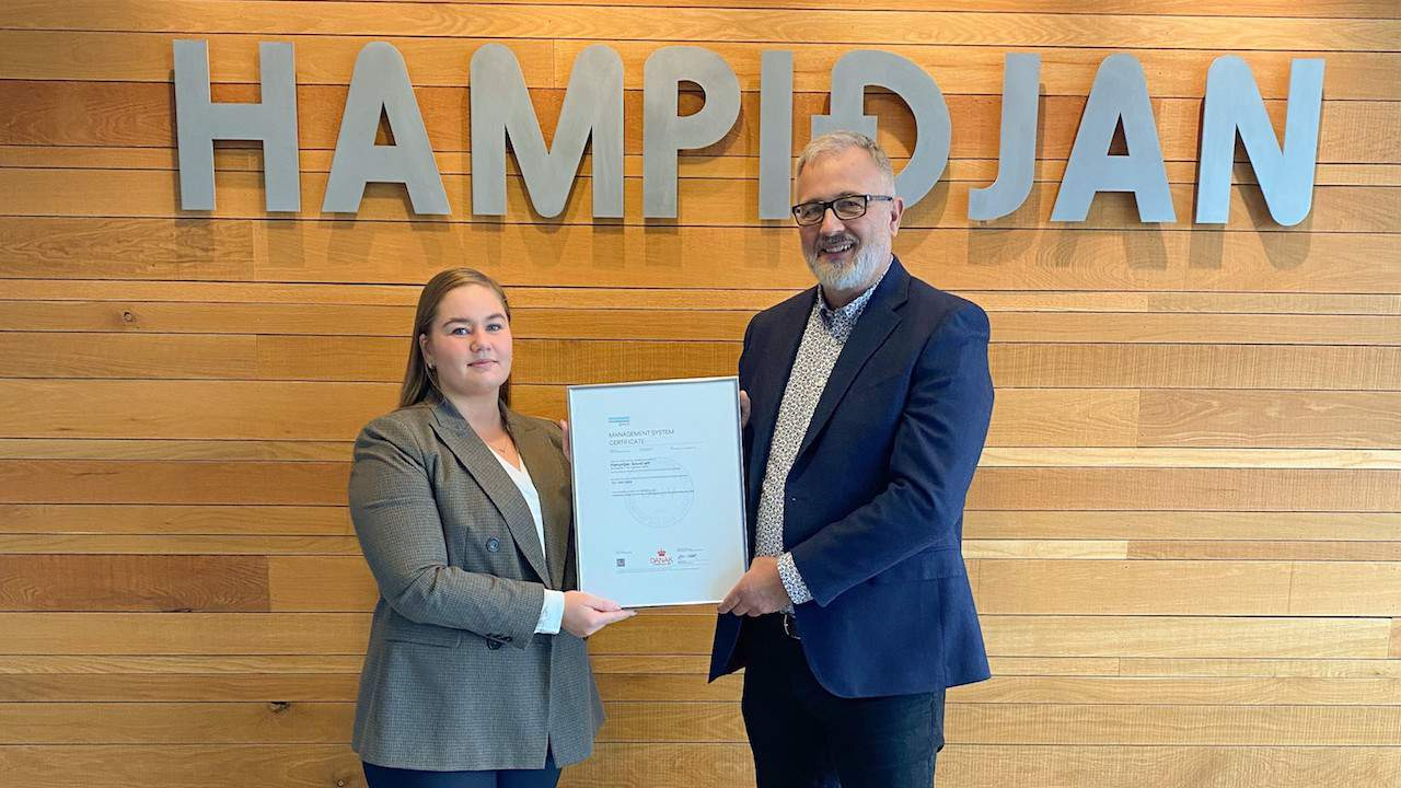 Read more about the article Hampiðjan achieves ISO 14001 environmental certification