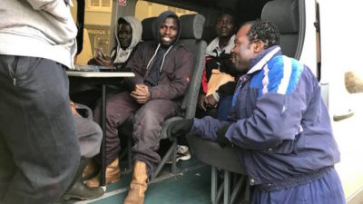 Crewmen freed from slavery conditions on fishing vessel