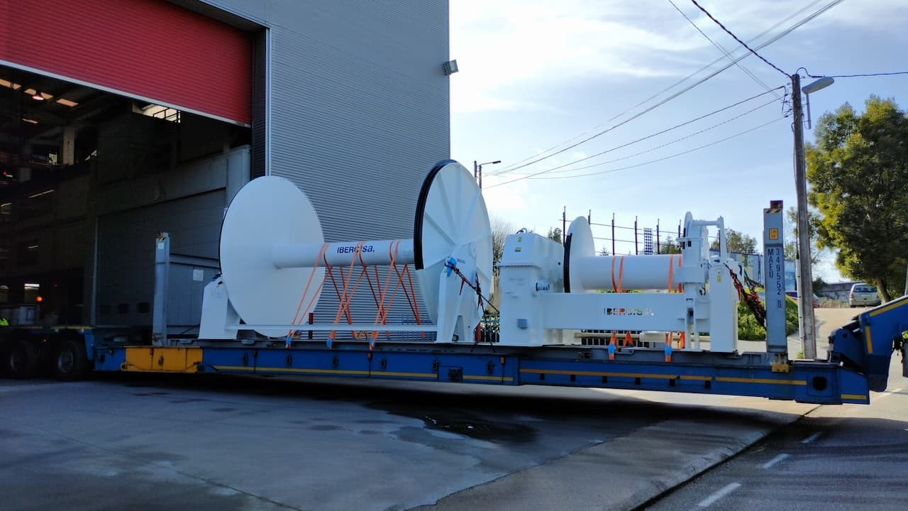 Read more about the article Ibercisa deck hardware for JSC Okeanrybflot
