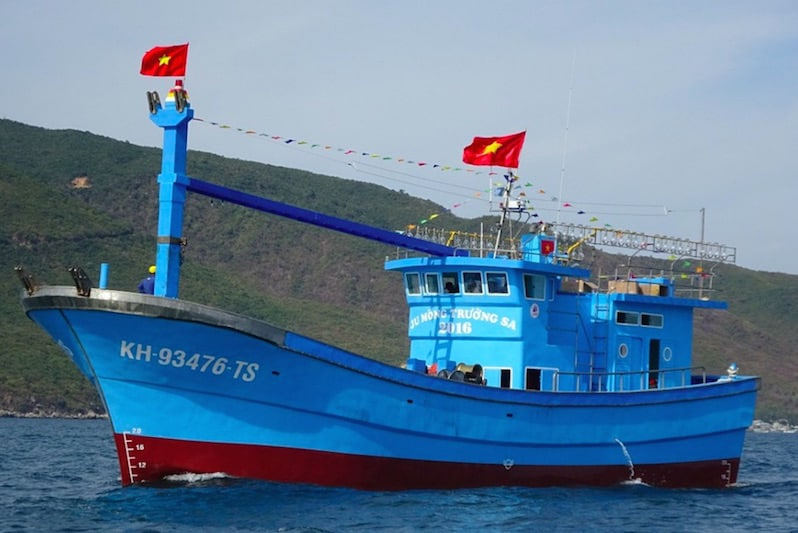 Read more about the article Vietnamese fisherman opts for Cummins and GRP