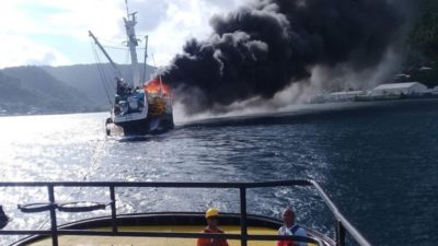 Investigation launched into seiner fire and loss