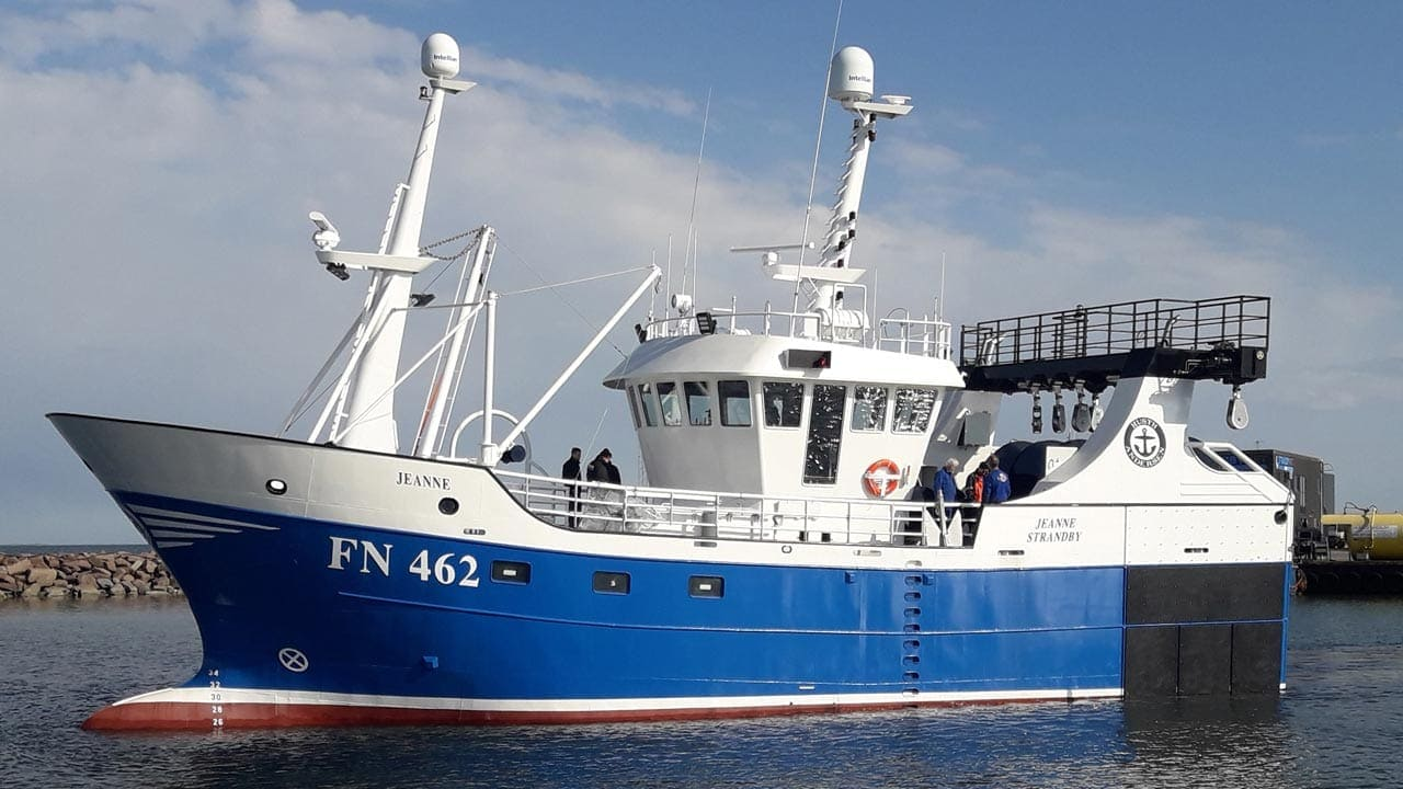 Read more about the article New trawler for Strandby
