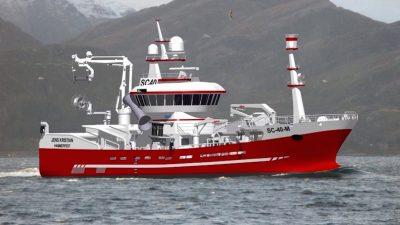 Norway's largest coastal fishing vessel