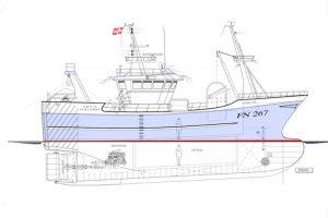 The new Emilie to be built at Jobi Værft - @ Fiskerforum