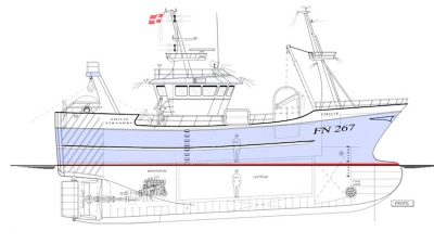 Newbuild trawler for Danish family