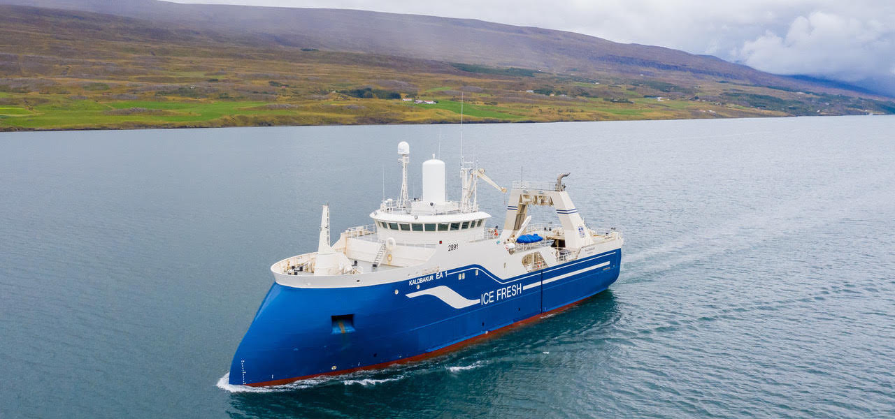 Read more about the article New catch handling deck for Kaldbakur
